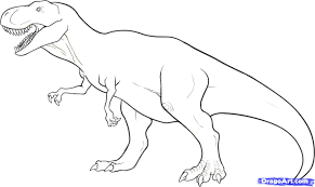 tyrannosaurus rex coloring page best 10696