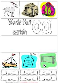 new 99 oa phonics worksheets vowel worksheet