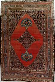 Bedroom Rug Size Antique Bijar Rug U2013 Sizes 9 6x14 3 Circa 1900 For A Quiet