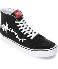 vans peanuts sk8 snoopy bones skate shoes zumiez