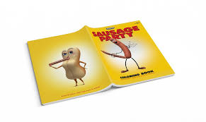 sausage party coloring book u2013 mondo