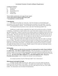 formal lab report template chemistry lab report template business template