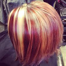 how to add colour chunks to hairstyles 20 best hair color ideas in the world of chunky highlights