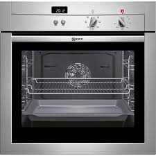 neff b14m42n3gb built in electric single oven stainless steel