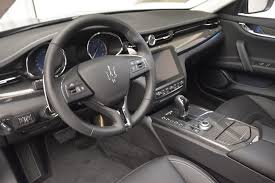maserati car interior 2017 2017 maserati quattroporte s q4 granlusso stock m1686 for sale