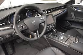 maserati quattroporte interior black 2017 maserati quattroporte s q4 granlusso stock m1686 for sale