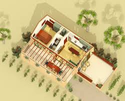 Spanish House Floor Plans Tiny Spanish Hacienda House Plan With Outdoor Living 490002rsk
