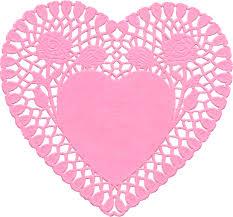 heart doily heart doily enjolivure