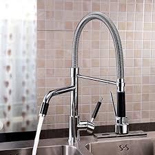 Kitchen Faucet Chrome - contemporary rotatable kitchen faucet chrome finish