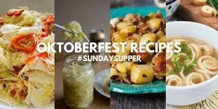 oktoberfest menus and recipes oktoberfest recipes