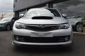 silver subaru wrx second hand subaru impreza 2 5 wrx sti type uk 5dr sold for sale