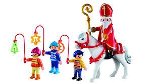 amazon com playmobil christmas parade set toys u0026 games