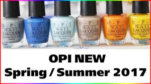 opi fiji spring summer 2017 nail lacquer collection all 12 new