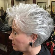 older women with platinum blonde pink hair 60 gorgeous hairstyles for gray hair