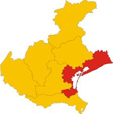 Italy Regions Map by File Map Of Metropolitan City Of Venice Region Veneto Italy Svg