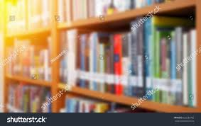 books on bookshelf library room abstract stock photo 532283782