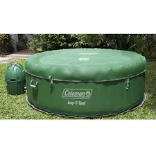 amazon com coleman lay z spa inflatable tub patio lawn