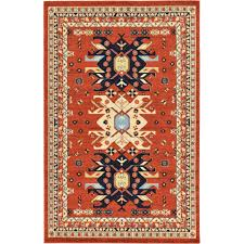 Terracotta Area Rugs by Zoey Rug By