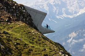 messner mountain museum corones zaha hadid architects archdaily