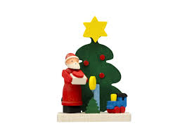 hand crafted santa christmas decorations adornare