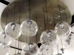 Glass 8 Light Pendant Innovation Wonderful Glass Orb Chandelier For Excellent Interior