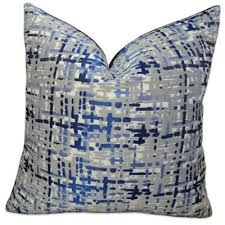 Grey Decorative Pillows Buy Decorative Pillow In Grey Blue From Bed Bath U0026 Beyond