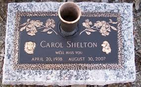 Flat Headstones With Vase Johnson Funeral Home And Monument Co Inc Sperry Ok Funeral