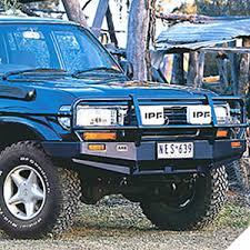 toyota land cruiser arb front bull bar winch bumper for 1990 97 toyota land cruiser