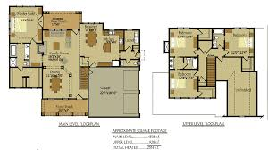2 story house plan narrow lot courtyard downstairs master 1