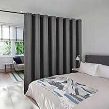 Room Divider Curtains Roomdividersnow Muslin Room Divider Curtain 9ft