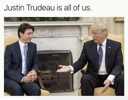 Justin Trudeau Memes - these memes perfectly capture justin trudeau recoiling from donald