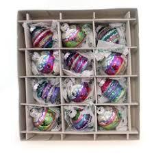 splendor mini acorns boxed glass ornaments it s