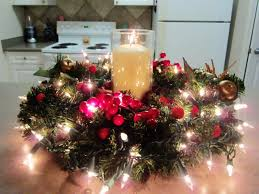 how to make a christmas floral table centerpiece christmas christmas centerpiece images