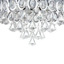 Diamond Chandeliers Shade Chandeliers Transparent For Living Room