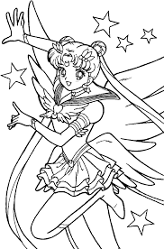 sailor moon coloring pages printable coloringstar