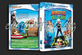 monsters aliens dvd cover dvd covers u0026 labels customaniacs