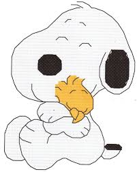 snoopy and woodstock halloween costumes baby snoopy hugging woodstock cross stitch pattern