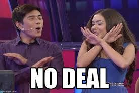 Deal Or No Deal Meme - no deal deal meme on memegen