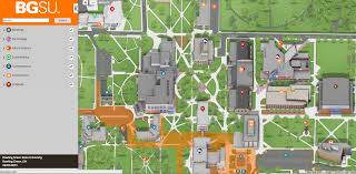 Ohio University Map by The Bg News Interactive Campus Map Now Available Campusbird