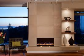 fireplace contemporary living room design ideas with