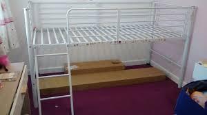 Argos Lucas Metal Mid Sleeper Bed Standard Size Single Bed - Mid sleeper bunk bed