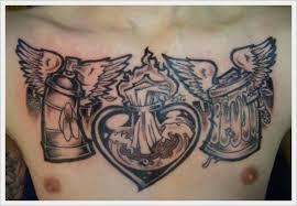 popular chest tattoo designs via public likes