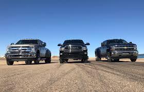 Ford Diesel Dually Trucks - dually duel 2017 chevy silverado hd vs 2017 ford f 350 vs 2017