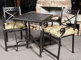 Refinish Iron Patio Furniture by Furniture Ideas Counter Height Patio Furniture With Square Iron