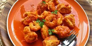 lotte a l armoricaine recette cuisine lotte à l armoricaine facile recette sur cuisine actuelle