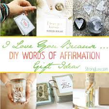 i you gifts words of affirmation gifts things i about you diy gift