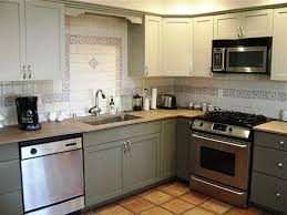 Kitchen Cabinets Without Handles Diy Kitchen Cabinet Refinishing Tehranway Decoration