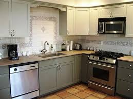 Painted Grey Kitchen Cabinets Refinish Kitchen Cabinets Grey Tehranway Decoration