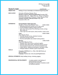 Teller Sample Resume Resume Sample Bank Teller Resumes Entry Level Within How To