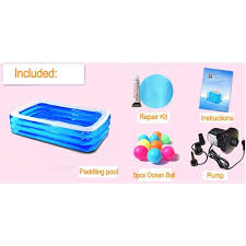 bassine pour bain de si e 122 40 90cm gonflable baignoire d été de la piscine gonflable